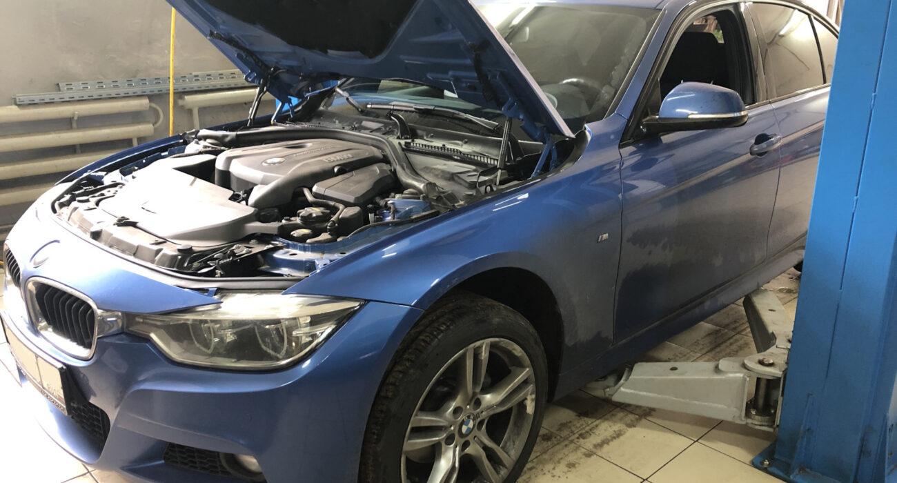 Полная аппаратная замена масла АКПП BMW 3′ F30 8HP50