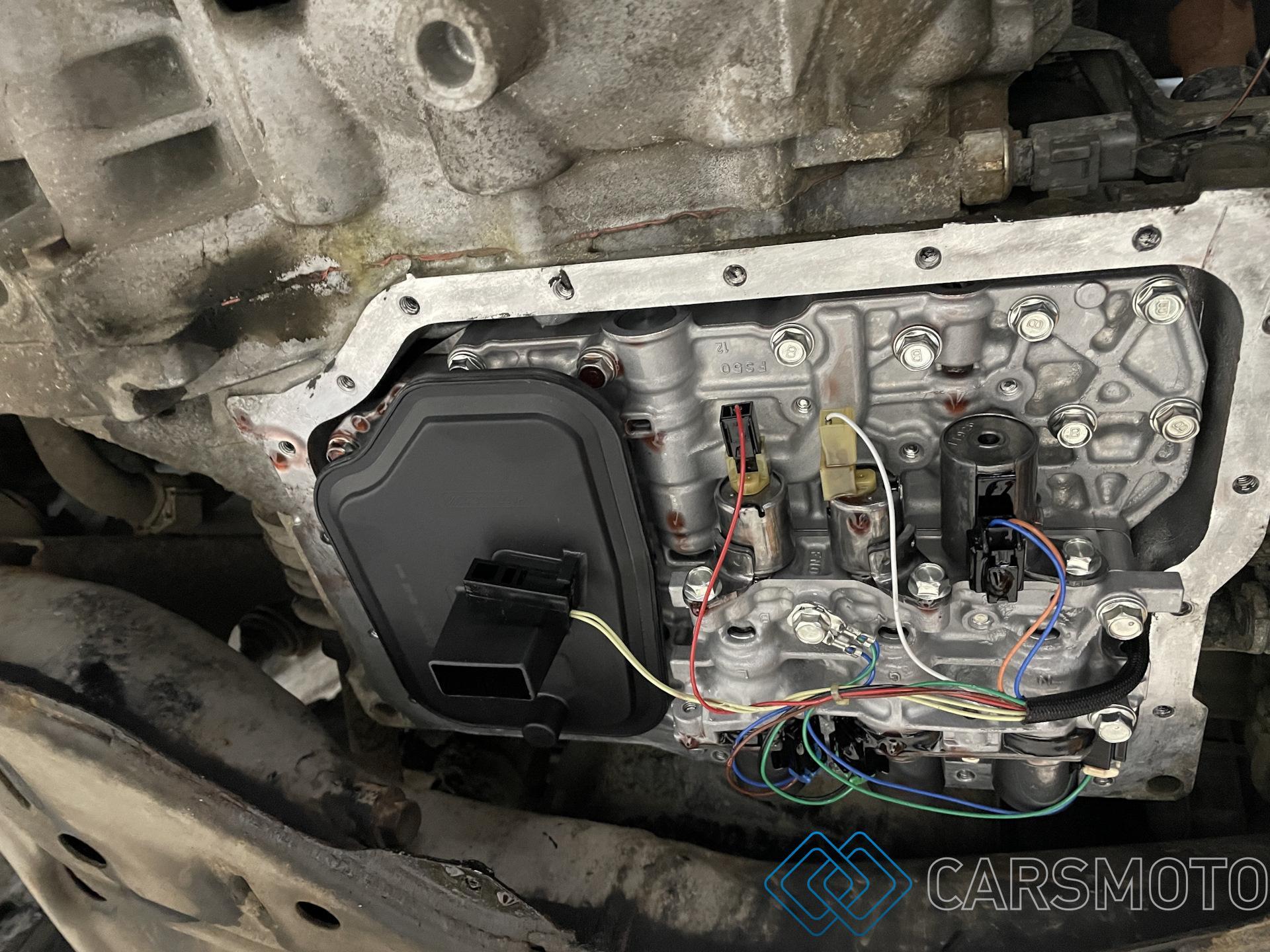 Полная аппаратная замена масла АКПП Mazda CX-7 2.5