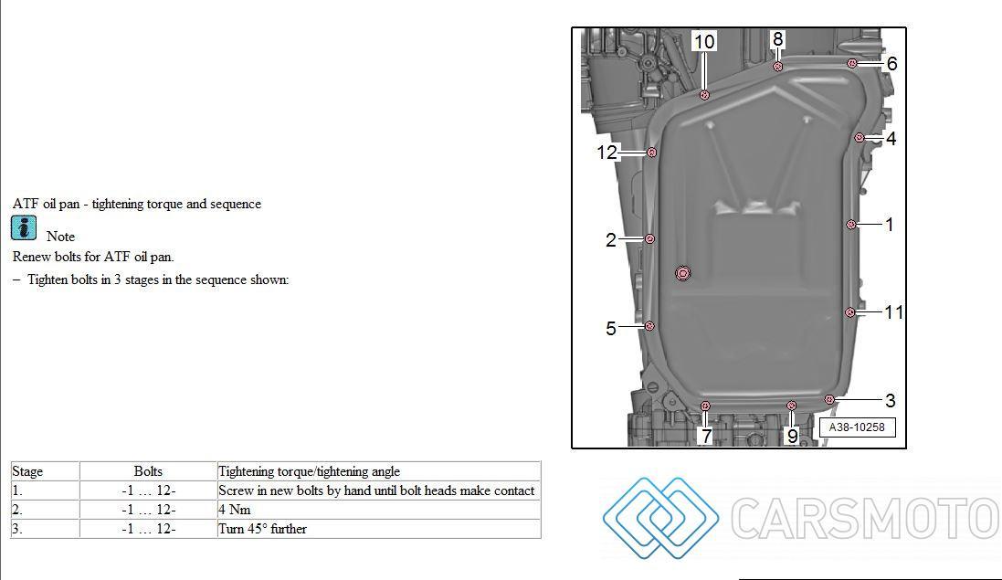 Полная аппаратная замена масла АКПП AUDI Q5 Q5 2.0 TFSI 0BK ZF 8HP55