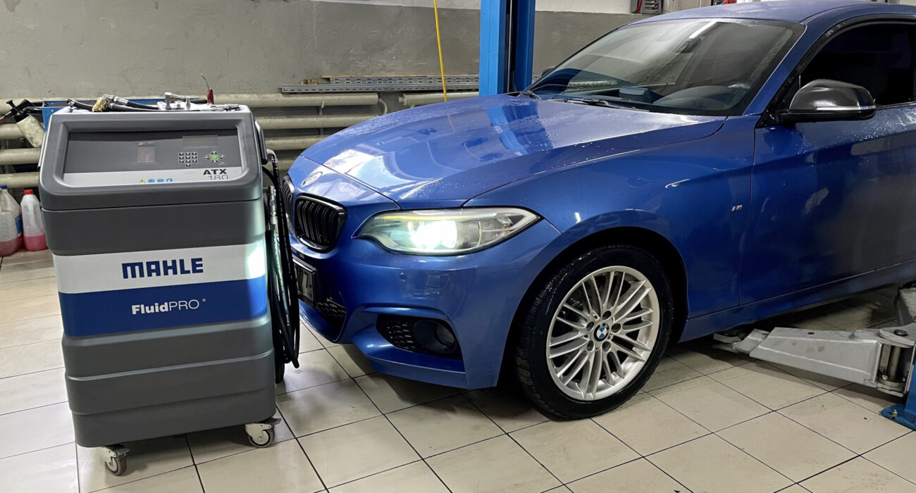 Полная аппаратная замена масла АКПП BMW 2' F22 8HP45