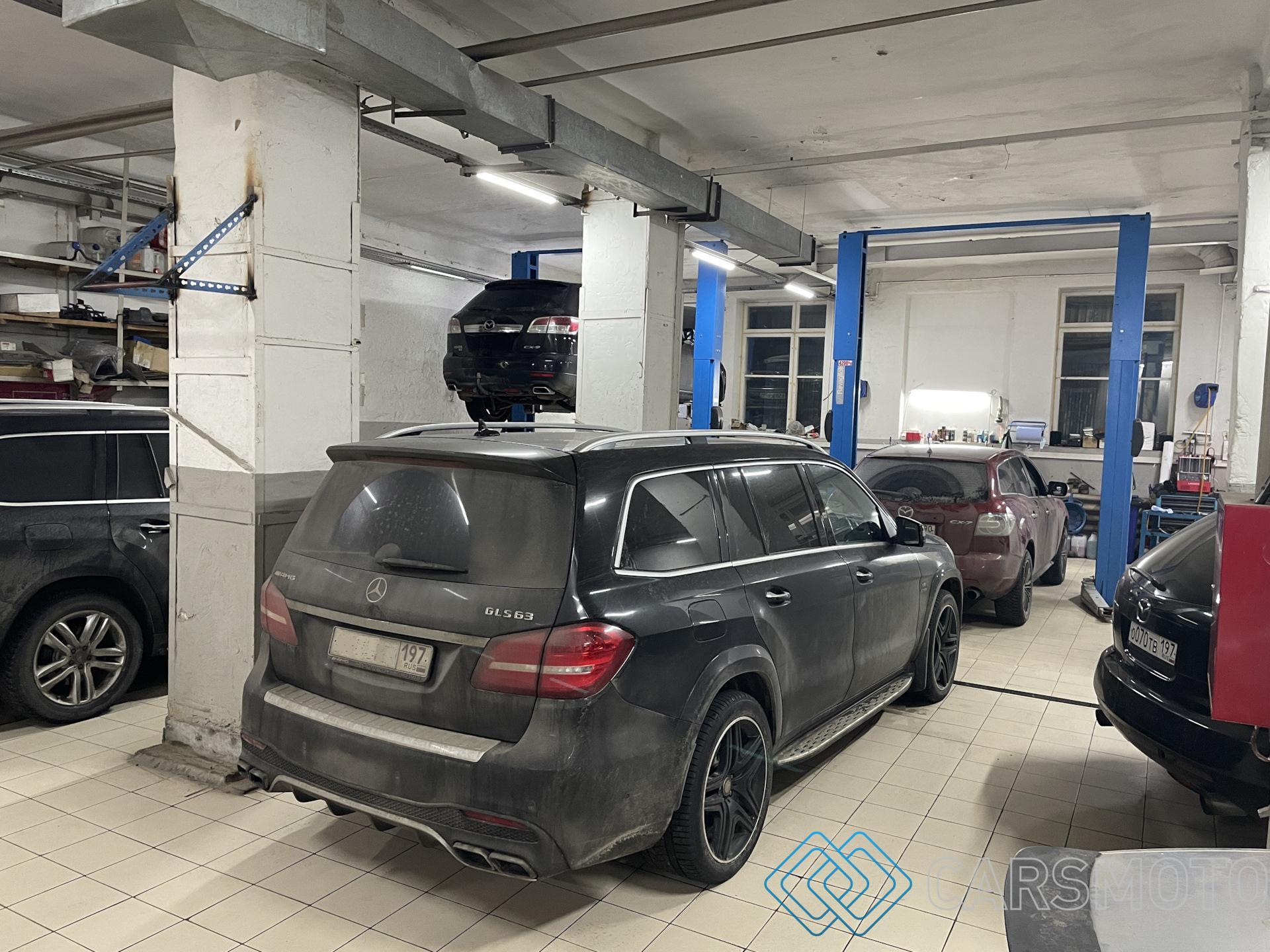Полная аппаратная замена масла АКПП Mercedes-Benz GLS63 AMG