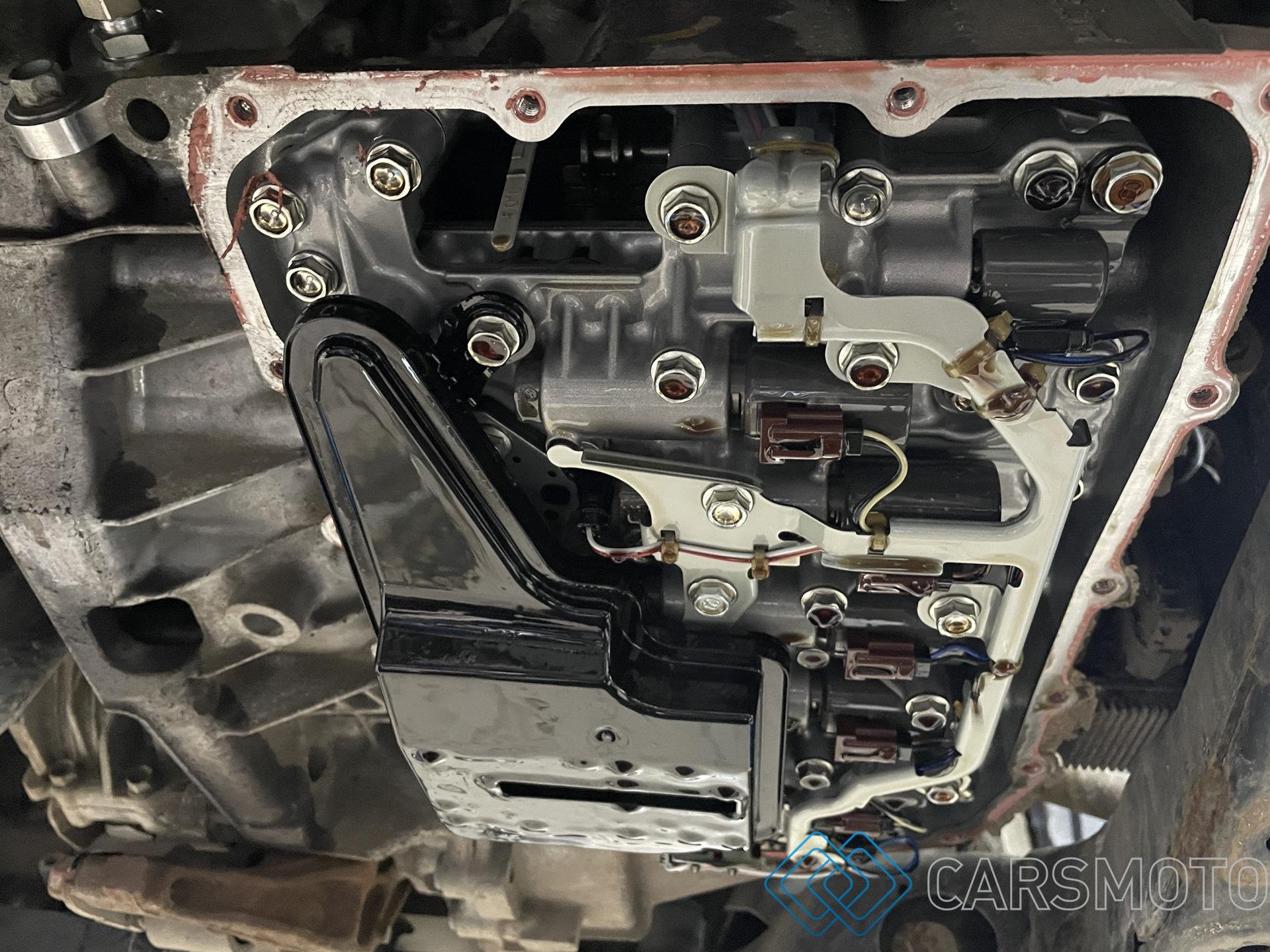 Полная аппаратная замена масла АКПП Mazda CX-5 (KE)