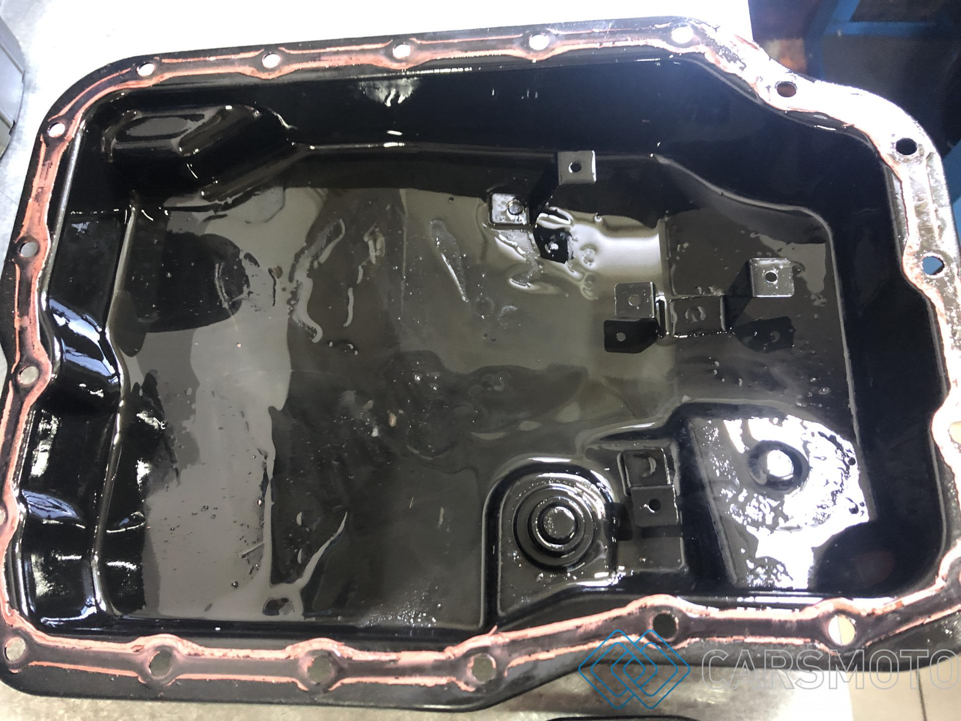 Полная аппаратная замена масла АКПП Mazda MPV LY 2.5