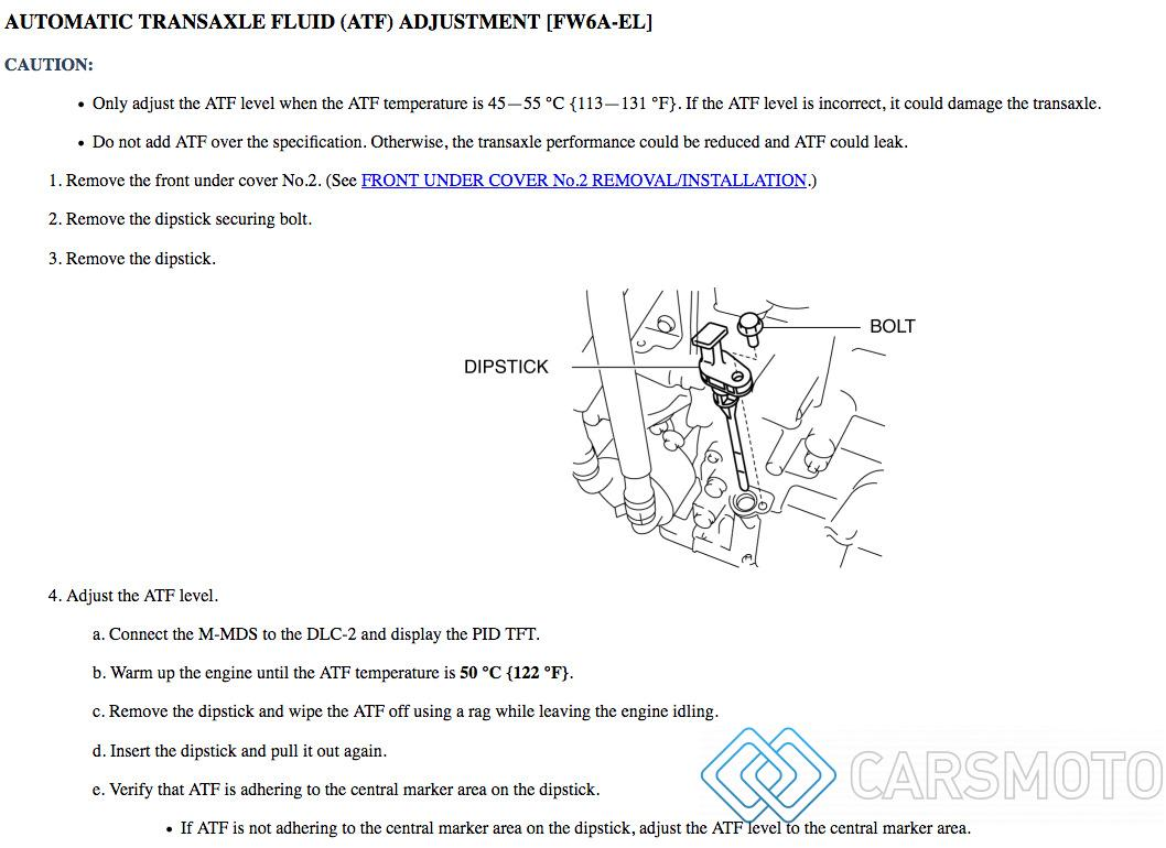 Полная аппаратная замена масла АКПП Mazda SkyActiv 3 6 CX9